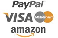 paypal visa mastercard amazon secure payments suntana
